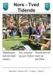 Nors-Tved Tidende - sep-okt 2011 - Norsby.dk