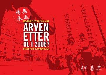 Arven etter OL i 2008? - Norsk Journalistlag