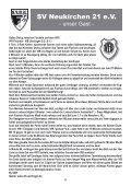 Stadionheft Nr.03 - SV Neukirchen - SV Neukirchen 21 e.V. - Page 6