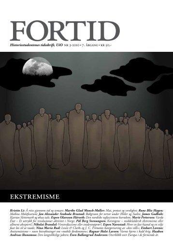 ekstremisme - Fortid