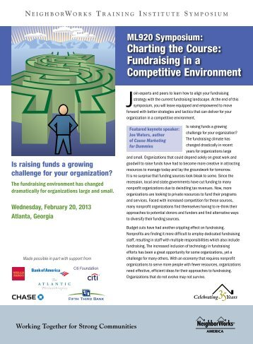 Charting the Course: Fundraising in a Competitive Environment