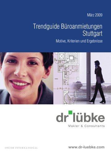 Trendguide Büroanmietungen Stuttgart - Immobilienverlag Stuttgart