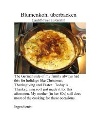 Blumenkohl überbacken - The Geriatric Gourmet