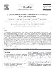 A Bayesian network algorithm for retrieving the characterization of ...