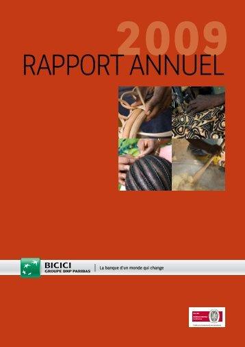Rapport annuel 2009 - BNP Paribas
