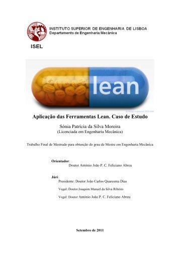Aplicação das Ferramentas Lean. Caso de Estudo