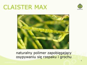 CLAISTER MAX - Osadkowski SA