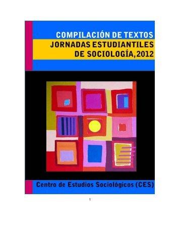 Untitled - Centro de Estudios Sociológicos - UNAM