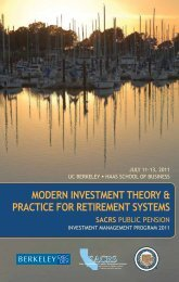 ModeRn InveStMent theoRy & PRACtICe foR RetIReMent ... - sacrs