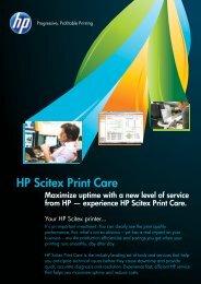 HP Scitex Print Care Brochure