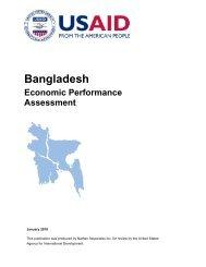 Bangladesh Economic Performance Assessment - Economic Growth