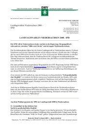 Drogenpolitisches Programm der SPD zur Landtagswahl 2008 in ...
