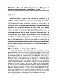 1-Condiciones actuales de la discriminación, racismo y xenofobia y ...