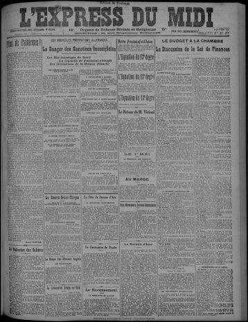 28 avril 1921 - Bibliothèque de Toulouse