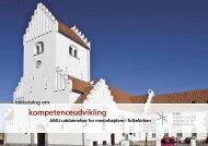Idékatalog om kompetenceudvikling - Kirkeministeriet