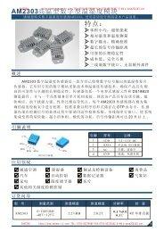 AM2303 - Sensor-ic.com