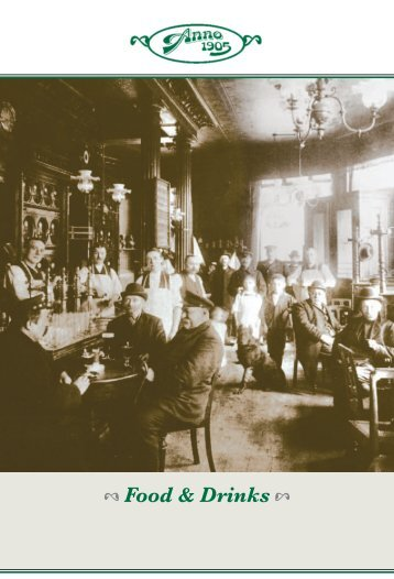Food & Drinks - Anno 1905