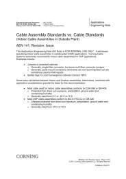 Cable Assembly Standards vs. Cable Standards