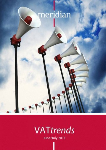 VATtrends - Meridian Global Services
