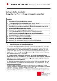 Schwarz-Gelbe Heuchelei: Integration fordern, bei ... - Uta Zapf