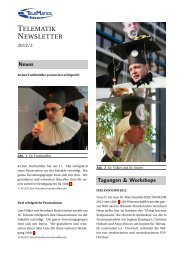 TELEMATIK NEWSLETTER - Karlsruher Institut für Technologie (KIT ...