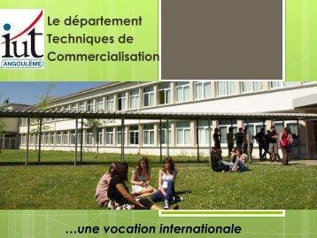 Télécharger la présentation powerpoint du ... - IUT Angoulême