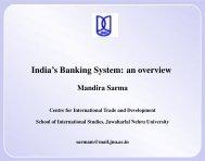 India's Banking System - DAAD partnership on economic ...