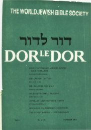 Some Features of Modern Jewish Bible Research