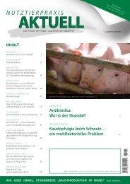 kaudophagie beim Schwein – ein ... - Animal-Health-Online