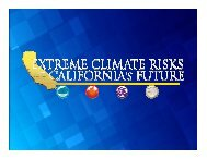 Regional Water Collaboration to Meeting Climate Challenges