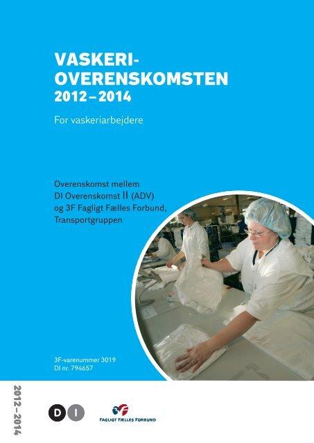 vaskeri overenskomsten - Danske Vaskerier - DI