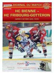 HC bieNNe – HC fRibOURg-gOTTéRON