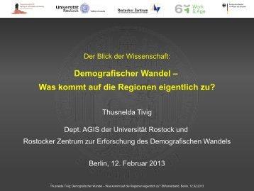 Thusnelda Tivig - Stifterverband für die Deutsche Wissenschaft