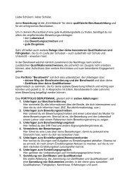 Berufswahl - Anne-Frank-Realschule plus Montabaur / Westerwald
