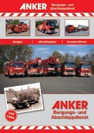 Bergungs- und Abschleppdienst - Anker - Kran- und ...