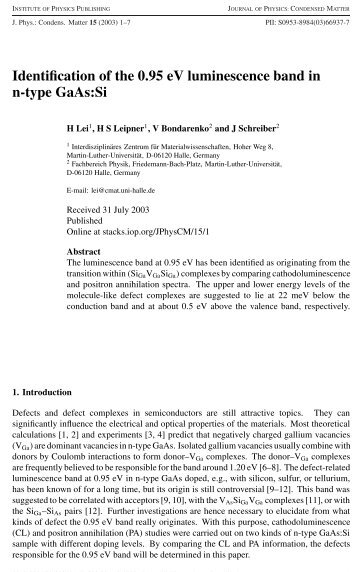 PDF-File - Positron Annihilation in Halle