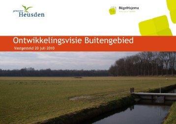 099 00 01 21 00 Ontwikkelingsvisie Buitengebied Heusden 20-07 ...
