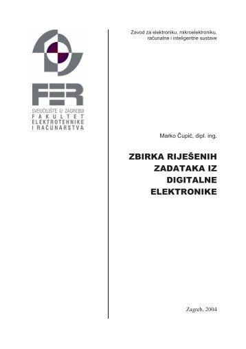 Zbirka riješenih zadataka iz Digitalne elektronike
