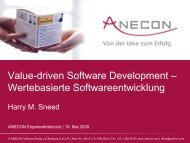 Only the Results count! - Anecon