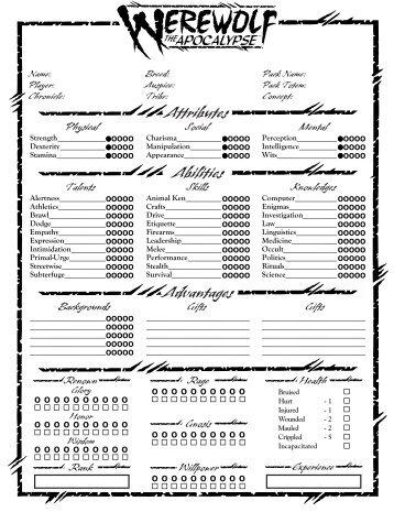 tribebook fianna revised pdf