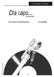 Le Forum 07/2000 - Da capo