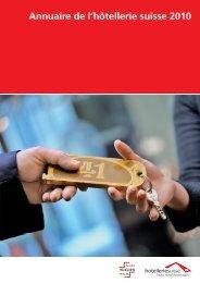 Annuaire de l'hôtellerie suisse 2010