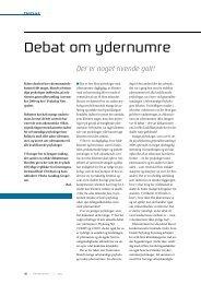 Debat om ydernumre - Elbo