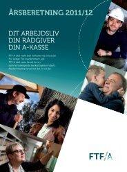 Læs den seneste årsberetning fra FTF-A 2011