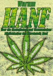 Warum Hanf - des Deutschen Hanf Verband