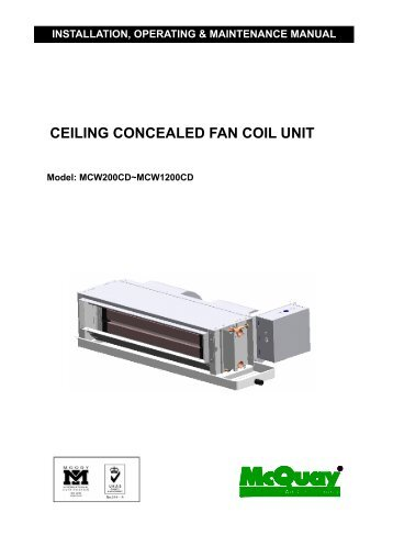 ceiling concealed fan coil unit?quality=85 daikin mcquay horizontal concealed fan coil olympic international williams fan coil unit wiring diagram at edmiracle.co