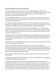 Beretning til valgmødet i DemensCentrumAarhus 2012 ... - Aarhus.dk