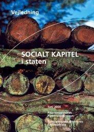 Vejledning om Socialt kapitel i staten - Samarbejdssekretariatet