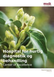 Hospital for hurtig diagnostik og behandling - Hospitalsenhed Midt