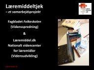 Læremiddeltjek - Læremiddel.dk